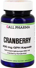 Hecht Pharma Cranberry 400 Mg Gph Kapseln (750 Stk.)