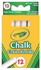 Crayola Weiße Kreide 12 Stück