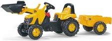 Rolly Toys rollyKid JCB mit Lader und Anhänger