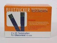 esparma Gluco Test Blutzuckerteststreifen (2 x 25 Stk.)