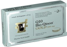 Pharma Nord Q 10 Bio-Qinon Gold 100 mg Kapseln (30 Stk.)