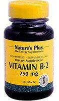 Nature's Plus Vitamin B-2 250mg S/R Tabletten (60 Stk.)
