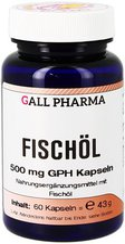 Hecht Pharma Fischöl 500 mg Gph Kapseln (60 Stk.)