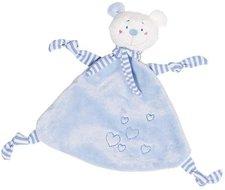 goki Kuscheltuch Bär mit Herzen