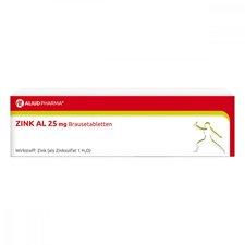 Aliud Zink Al 25 mg Brausetabletten (40 Stk.)