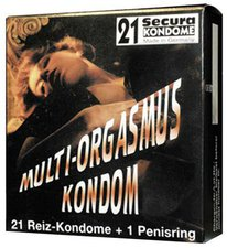 Secura Multi-Orgasmus Kondom Kondome (21 Stk.)
