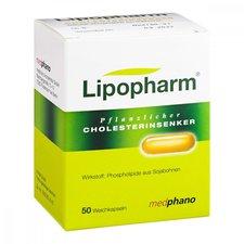 Medphano Lipopharm Pflanzlicher Cholesterinsenker Kapseln (50 Stück)