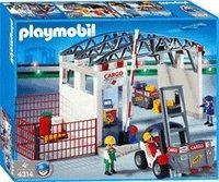 Playmobil 4314 Cargohalle mit Gabelstapler