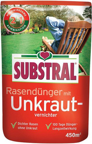 Substral Rasendünger Mit Unkrautvernichter 9 Kg Günstig Kaufen