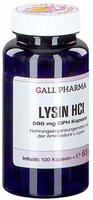 Hecht Pharma Lysin Hci 500 mg Gph Kapseln (100 Stk.)