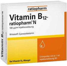ratiopharm Vitamin B 12 Ratiopharm N Ampullen (5 x 1 ml)
