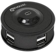 Revoltec 4-Port USB2.0-Hub Stackable