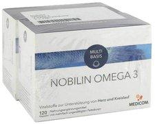 Medicom Nobilin Omega 3 Kapseln 2 x 120 Stk.