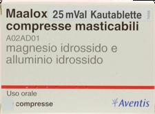 EMRA-MED Maaloxan 25Mval Kautabletten (20 Stück) (PZN: 02900699)