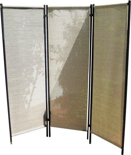 leco paravent als sichtschutz 150x156 cm 3x rahmen. Black Bedroom Furniture Sets. Home Design Ideas
