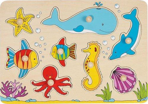 goki Steckpuzzle Unterwasserwelt