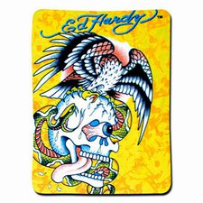 Ed Hardy Fleecedecke Battle 150 x 200 cm