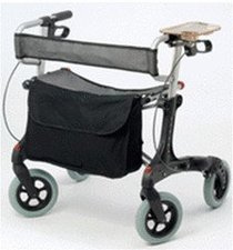 Rehaforum Liberty City XL Rollator silber, SB 58cm