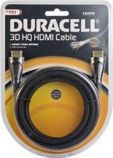 Duracell PS3C13DU - 3D HDMI High Speed Kabel, Metall (2,0m)