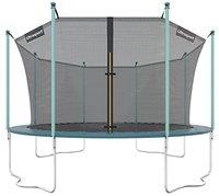 Ultrafit Gartentrampolin 430cm mit Sicherheitsnetz