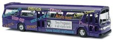 """Busch US Bus Fishbowl  """"Information Campaign """" (44504)"""