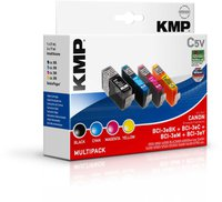 KMP C5V(schwarz+farbe) Vorteilspack