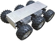 Arexx Roboter Fahrgestell 6-Wheel -Drive