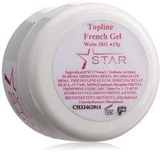 Star Naildesign & Co Star French Gel weiß (15 ml)