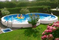 my pool Premium Achtformpool 525x320x120cm