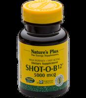 Nature's Plus Shot-O-B12 5000 mcg veg. Kapseln (30 Stk.)