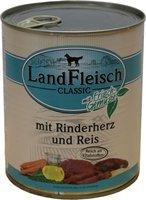 Dr. Alder's Landfleisch Pur Rinderherzen & Reis (800 g)