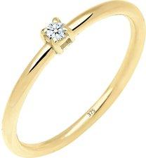 Verlobungsringe Weißgold, Geldgold und Zirkonia