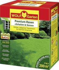 Wolf-Garten Premium Rasen Schatten & Sonne LP 200