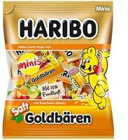 Haribo Saft-Goldbären Minibeutel (220 g)
