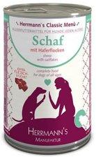 Herrmanns Hundefutter Bio Schaf mit Haferflocke...