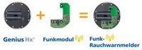 Hekatron Funkmodul Pro
