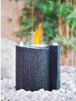 Heissner Steinbrunnen mit Feuer INDY