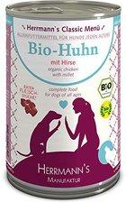 Herrmanns Hundefutter Bio-Menü Huhn, Hirse & Ge...
