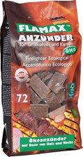 Flamax Ökologische Anzünder 72 Würfel Papiersack