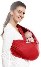 Wallaboo Babytrage Sling Baumwolle red