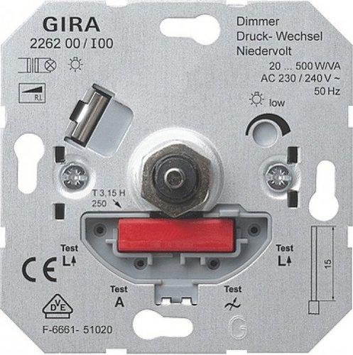 Gira Dimmer Druck-Wechsel 226200