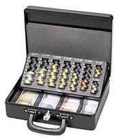 MAUL 370 Geldkassette mit Zähleinsatz, schwarz (5621490)