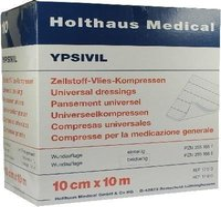 Holthaus Zellstoff Vlies Kompressen Ypsivil 10 m x 10 cm Bs.
