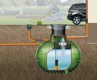 Garantia Regenwasser-Komplettpaket COLUMBUS 3.700 l