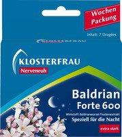 Klosterfrau Nervenruh Baldrian Forte 600 Tabletten (7 Stk.) (PZN: 06582842)