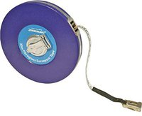 Silverline Tools Glasfaser-Maßband 50 m MT40