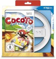 Cocoto Kart Racer 2 + Lenkrad (Wii)