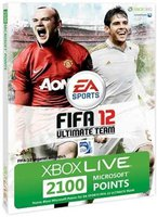 Microsoft Xbox 360 2100 Live Points Card - FIFA 12