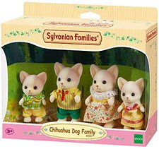 Sylvanian Families Chihuahua Familie