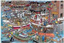 Jumbo Jan van Haasteren: Verrückter Hafen 1500 Teile